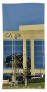 Google Orange County Bath Towel