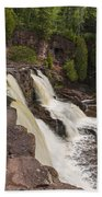 Gooseberry Middle Falls 26 Bath Towel
