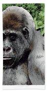 Gorilla My Dreams Bath Towel