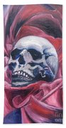 Gothic Romance Hand Towel by Isabella F Abbie Shores FRSA