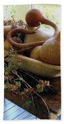 Gourds In Bowl Bath Towel