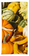 Gourds Pile 1 A Hand Towel