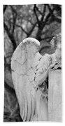 Graceland Cemetery Angel Bath Towel