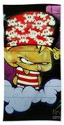 Graffiti 8 Bath Towel