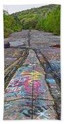 Graffiti Highway, Facing South Bath Towel