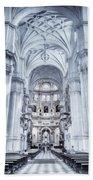 Granada Cathedral Interior Bath Towel