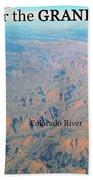 Grand Canyon Flight Bath Towel