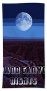 Grand Canyon Nights Bath Towel