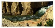 Grand Canyon Of The Yellowstone 3 Bath Towel