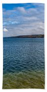 Grand Harbor On Lake Superior Bath Towel