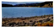 Grand Mesa Lake Hand Towel