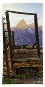 Grand Teton Framed Bath Towel