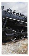 Grand Trunk Railroad - Gorham New Hampshire Usa Bath Towel