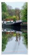 Grand Union Canal Cowley West London Bath Towel