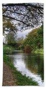 Grand Western Canal At Crown Hill Bath Towel