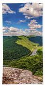 Grandview West Virginia Bath Towel