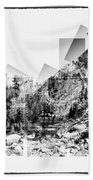 Granite Steps Eagle Lake Sequoia National Park California 2012 Bath Towel
