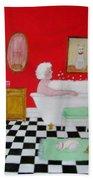 Gran's Napping Again Bath Towel