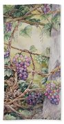 Grapevine Laurel Lakevineyard Bath Towel