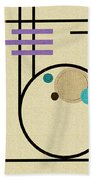 Graphics In The Sand Bath Towel