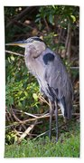 Great Blue Just Chillin' Bath Towel