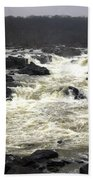 Great Falls Potomac River Maryland Bath Towel