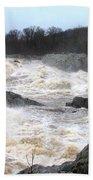 Great Falls Torrent Bath Towel