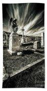 Great Orme Graveyard Bath Towel