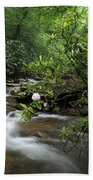 Great Smoky Mountains Rosebay Rhododendron Bath Towel