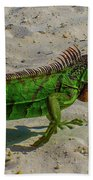 Green Dragon Bath Towel