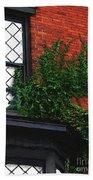 Green Ivy Garnet Brick Bath Towel