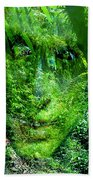 Green Man Bath Towel
