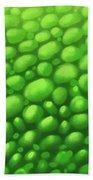 Green Scales Bath Towel