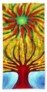 Green Sun Bath Towel