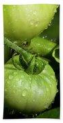 Green Tomatoes Bath Towel