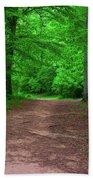 Green Trail Bath Towel