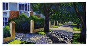 Griffith Avenue Through The Trees Hand Towel