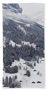Grindelwald In Winter 3 Bath Towel