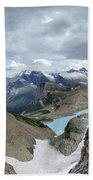 Grinnell Glacier Overlook - Glacier National Park Bath Towel