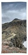 Grinnell Glacier Overlook Panorama - Glacier National Park Hand Towel