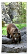 Grizzly Bath Towel