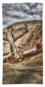 Grounded Plane Wreck Bath Towel