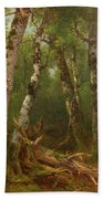 Group Of Trees Bath Towel