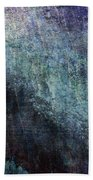 Grunge Texture Blue Ugly Rough Abstract Surface Wallpaper Stock Fused Bath Towel