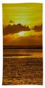 Guam Sunset Bath Towel