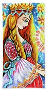 Guardian Mother Of Life Hand Towel