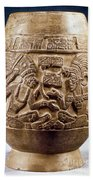 Guatemala: Mayan Vase Bath Towel