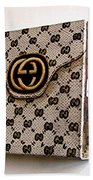 Gucci Bag Bath Towel