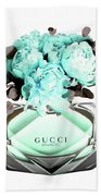 Gucci Blue Perfume Bath Towel