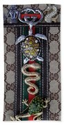 Gucci Monogram With Jewelry 3 Hand Towel